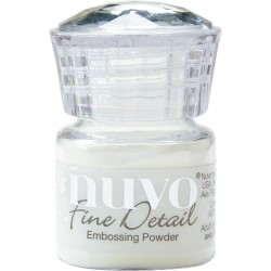 NUVO EMBOSSIING POWDER FINE DETAIL CRYSTAL CLEAR
