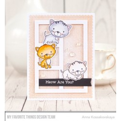 SMITTEN KITTEN CLEAR STAMPS