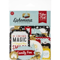 Echo Park Cardstock Ephemera 33/Pkg