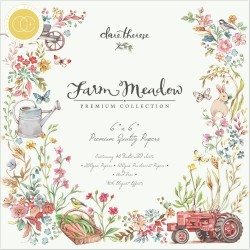 CRAFT CONSORTIUM FARM MEADOW PAPER PAD 15 x 15cm