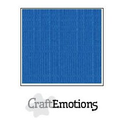 Linen Cardstock SIGNAL BLUE
