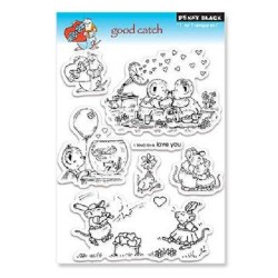 PENNY BLACK Clear Stamps - GOOD CATCH