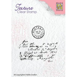 NELLIES CHOICE CLEARSTAMP WRITING