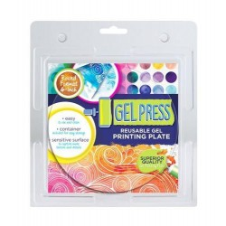 GEL PRESS PLATE - CIRCLE 15.2 cm