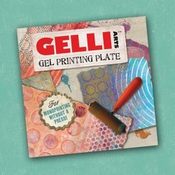 GEL PRESS PLATE - VIERKANT 15.2 cm X 15.2 cm