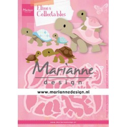 MARIANNE DESIGN COLLECTABLES ELINE'S TURTLES