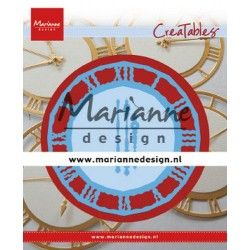 MARIANNE DESIGN CREATABLES CLOCK