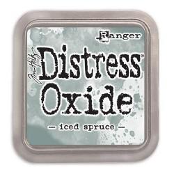Tim Holtz distress oxide Iced Spruce