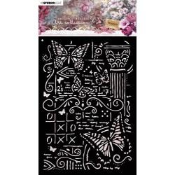 STUDIO LIGHT MASK STENCIL A5, JENINE'S MINDFUL ART 06