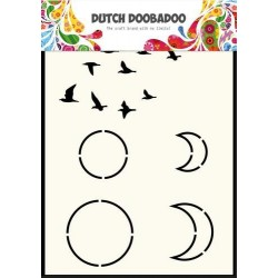 Dutch Doobadoo STENCIL MASK ART SKY A6