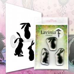 Lavinia Stamps WILD HARES SET