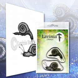 Lavinia Stamps SNAIL SET