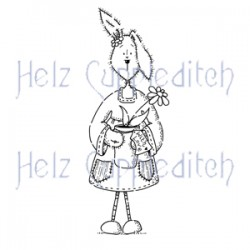 HELZ CUPPLEDITCH LOOPY LOPS PLANT POT, CLEAR STAMP