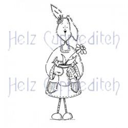 HELZ CUPPLEDITCH LOOPY LOPS PLANT POT, CLEAR STAMP