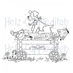 HELZ CUPPLEDITCH MOVING HOUSE, CLEAR STAMP