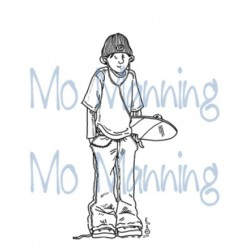MO MANNING SIMON, CLEAR STAMP