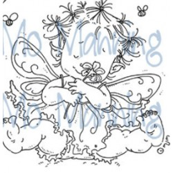 MO MANNING BABY FAIRY FLORA, CLEAR STAMP