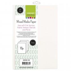 VAESSEN CREATIVE Mixed Media Paper A4 10 pces