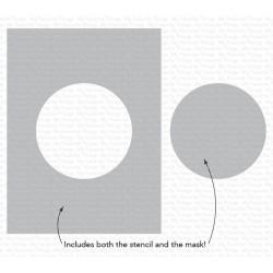 CIRCLE EXTRAORDINAIRE STENCIL