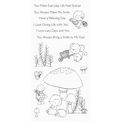 MFT ALWAYS BRING A SMILE CLEAR STAMPS
