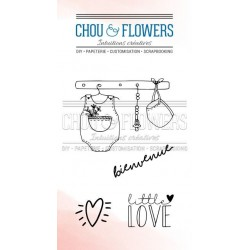 CHOU & FLOWERS TAMPONS CLEAR LITTLE LOVE