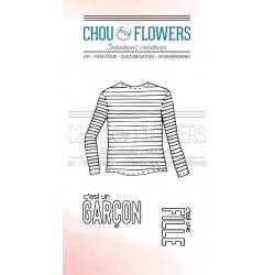 CHOU & FLOWERS TAMPONS CLEAR FILLE OU GARCON