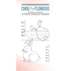 CHOU & FLOWERS TAMPONS CLEAR COUCOU