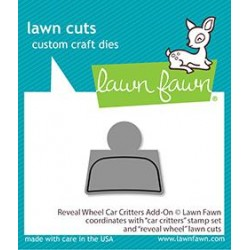 LAWN FAWN REVEAL WHEEL CAR CRITTERS ADD-ON