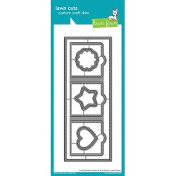 LAWN FAWN small slimline with lift the flaps DIES