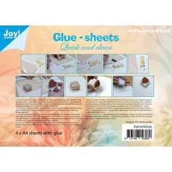 Joy! Crafts Glue Sheets A4 - Quick and Clean