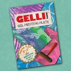 GEL PRESS PLATE - CARRE 15.2 cm X 15.2 cm