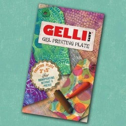 GELLI ARTS GEL PRESS PLATE - 7.6x12.7cm