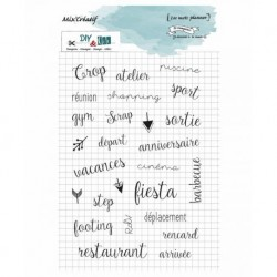 DIY and Cie Tampons Mix Creatif - Planner