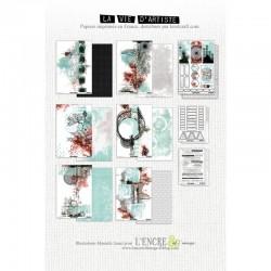 L'ENCRE ET L'IMAGE - LA VIE D'ARTISTE COLLECTION PACK