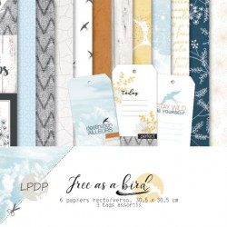 PAPIERS DE PANDORE - FREE AS A BIRD COLLECTION KIT