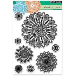 PENNY BLACK Clear Stamps - DAZZLERS