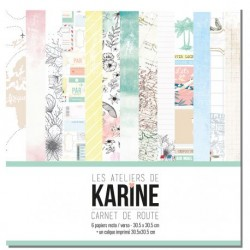 LES ATELIERS DE KARINE CARNET DE ROUTE COLLECTION PACK