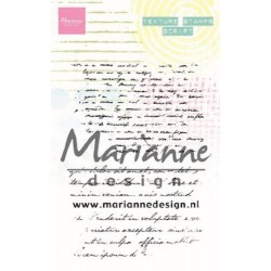 Marianne Design • Texture clear stamps script