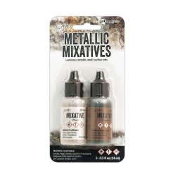 Ranger • Tim Holtz alcohol ink metallic pearl & copper