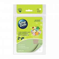 GLUE DOTS MINI 5 mm, sheets