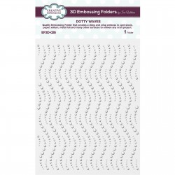 Creative Expressions • Embossing folder 3D DOTTY WAVES