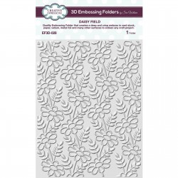 Creative Expressions • Embossing folder 3D DAISY FIELD