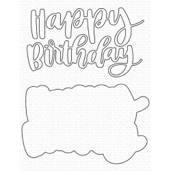 MFT HAND-LETTERED HAPPY BIRTHDAY DIES
