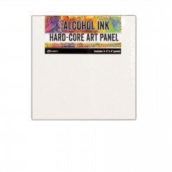 Ranger Tim Holtz Alcohol Ink Hard-Core Art Panel - Squares small