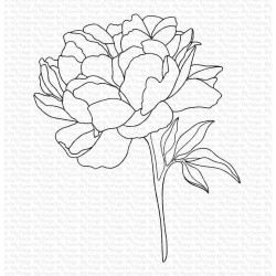 MFT PEONY PERFECTION CLING STAMPS
