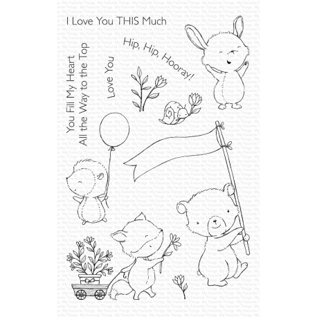 MFT SY HOORAY KIND OF DAY CLEAR STAMPS
