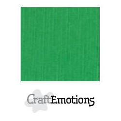 Linen Cardstock GRASS GREEN