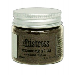 DISTRESS EMBOSSING GLAZE WALNUT STAIN