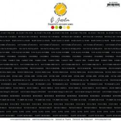 O Jardin étiquettes noires - Mes Ptits Ciseaux