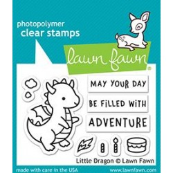 LAWN FAWN LITTLE DRAGON CLEAR STAMPS